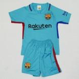 Deciji dres Barselone gostujuci plavi 2017-2018