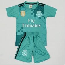 Deciji dres Real Madrida gostujuci zeleni 2017-2018