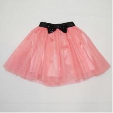 Suknjica roze sa masnicom